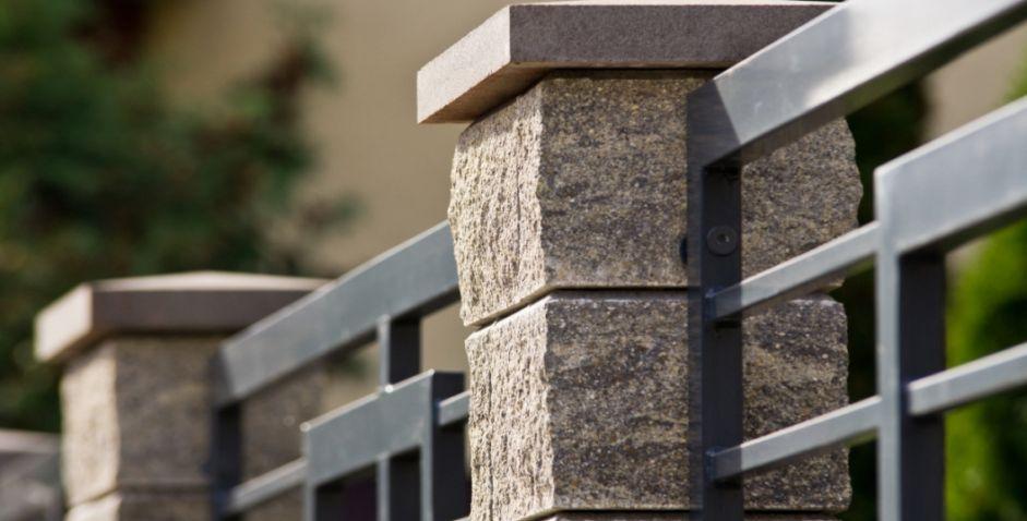 Mur av block