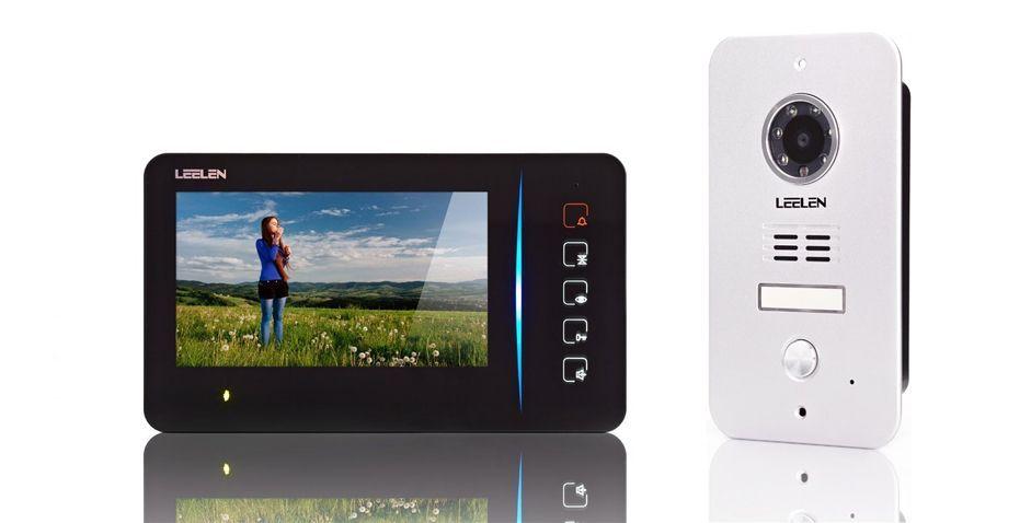 Porttelefon med kamera JB305 integrerad