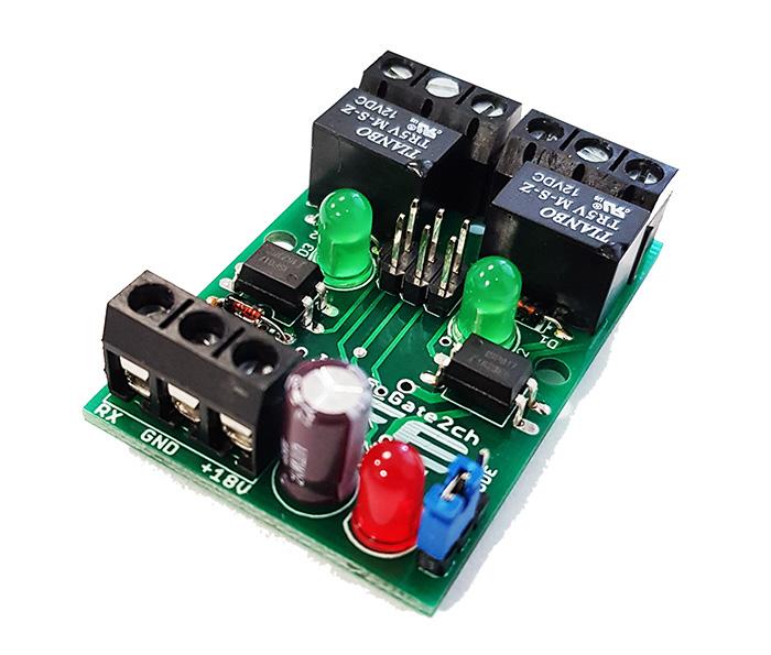 2-kanaler modul