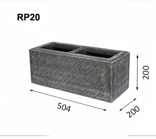Mur av block RP20