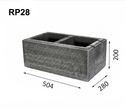 Mur av block RP28
