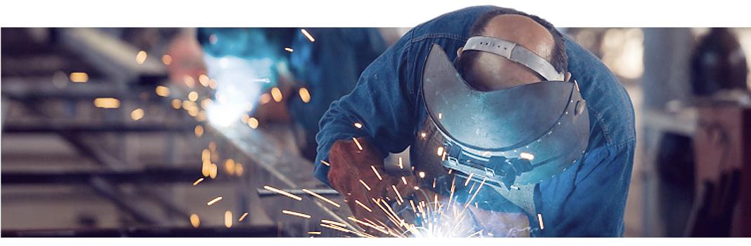 Produktionssteg av metallstängsel