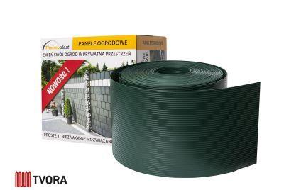 190mm grön stängselband PP