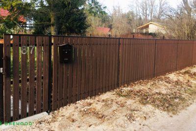 Komposit staket