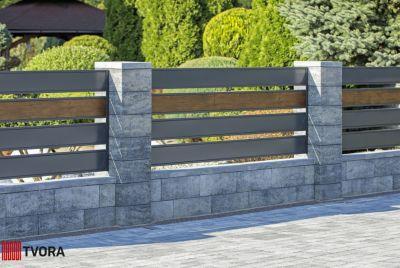 Blocket RO av betong staket