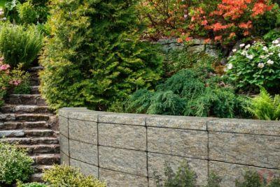 Trädgårdssten av betong