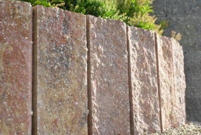Trädgårdssten av betong, granit