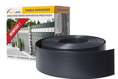 95mm grå stängselband PP