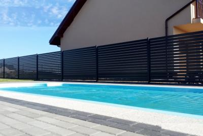 Modernt staket