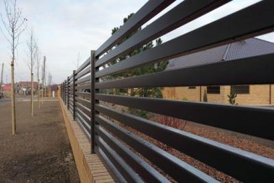 Horisontella staketprofiler