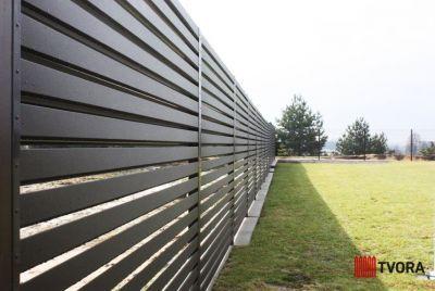ROMBAS 4D staket av plåt