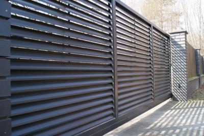 Horisontella staket