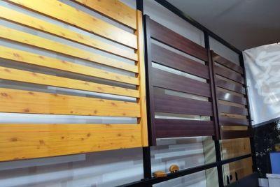 Horisontell och vertikal staket